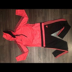 Adidas Track Suit✨ hoodie and pants